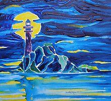 Fastnet Rock Light House....County Cork Ireland by Kevin McGeeney