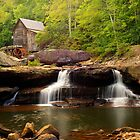Glade Creek Grist Mill (Cooper&#x27;s Mill) by Gregory Ballos | gregoryballosphoto.com