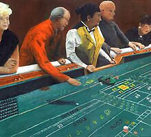 Craps Shooting by Peter Worsley