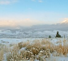 Solstice Sunrise in Summit County, Colorado by bberwyn