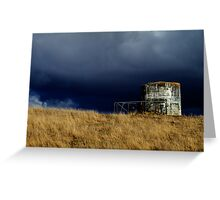 Incoming Storm II Greeting Card