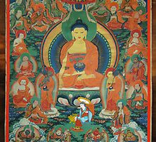 Buddhist Thanka by Nyes Ghale