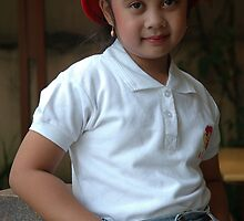 little asian girl  by bayu harsa