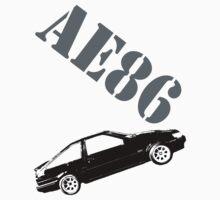 AE86 by blacktopspirit