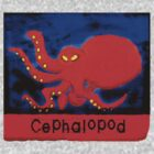 Cephalopod in red by Marc Cram