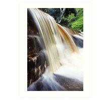 Chocolate Waterfall Art Print