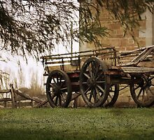 ~ The Old Wagon ~ by Lynda Heins
