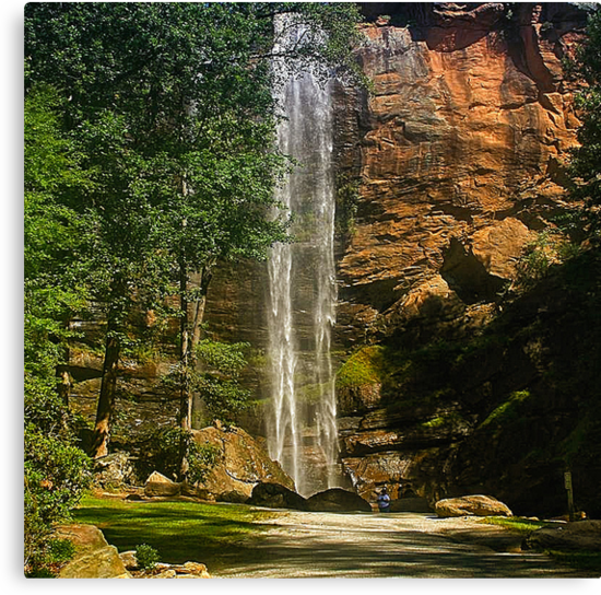 Morning Rush - Toccoa Falls by Chelei