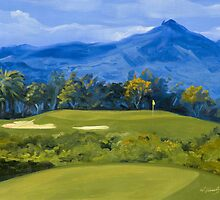 Hawaii Golf: Kiele Lagoons On Kauai by KeatingArt