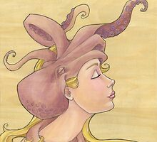 The Octopus Mermaid 11 by Karen  Hallion