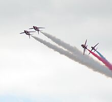 Red Arrows by Rees Adams