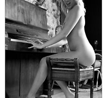 At the piano by Darren Peet