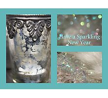 Sparkling New Year - JUSTART © Photographic Print