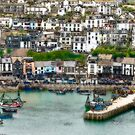 Brixham Harbour Art 1 by StephenRB