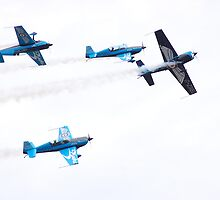Blades Aerobatic Team by Rees Adams