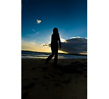 Slowmotion Sunset Photographic Print