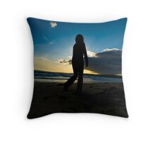 Slowmotion Sunset Throw Pillow