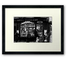 Little Betty's - Stonegate - York Framed Print