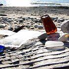 beach glass by Leeanne Middleton