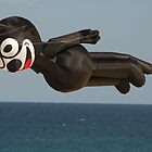 Felix The Cat Flies Over Bondi Beach by muz2142