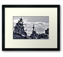 Naval Park And Museum Framed Print
