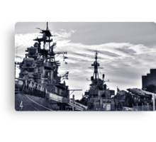 Naval Park And Museum Canvas Print