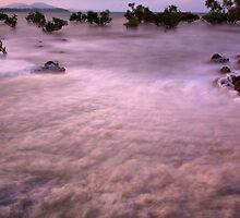 Foaming Sea 2 by John Vandeven