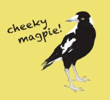 cheeky magpie! by creativemonsoon