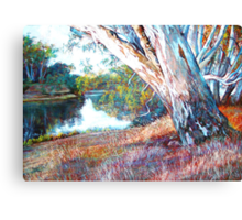 The Swing Tree Canvas Print