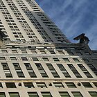 Looking Sideways, Chrysler Building, New York.  by Jane McDougall