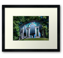 The Rotunda - (Ekotemplet) Haga Park, Stockholm, Sweden Framed Print