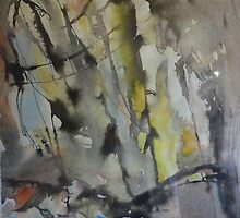Wildflower  Nature Reserve - Abstract by Peter Johnson