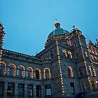 British Columbia Legislature, Canada by Davin Andrie