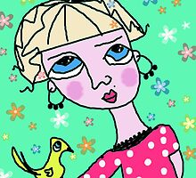 SWEETY by Barbara Cannon  ART.. AKA Barbieville