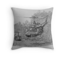 Champagne Flight Throw Pillow