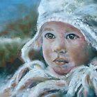 Sandy's Snowchild by JayteesArt