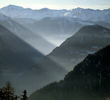 Verbier and the Val de Bagnes by Catherine Ames