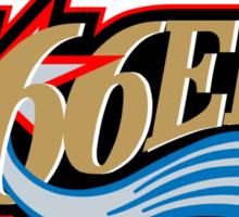 666ers Sticker