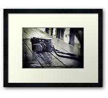 Road companion Framed Print