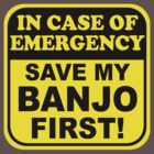Banjo Emergency by evisionarts