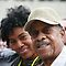 DeAnna Weeden & Father (Mr. Marvin Fields) - DJF - 2010 by Charles Ezra Ferrell - PhotoARTgraphy