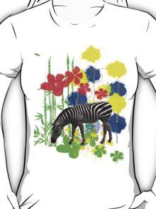Zebra. T-Shirt