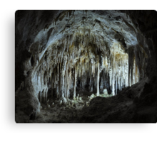 The Dollhouse - Carlsbad Caverns Canvas Print