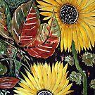 Sunflower Delight by Angela Gannicott
