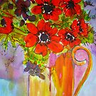 Meta's Flowers 1 by Angela Gannicott