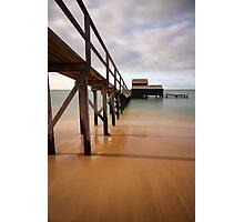 Civilization meets the Sea Photographic Print