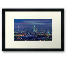 The City Of Lights Framed Print