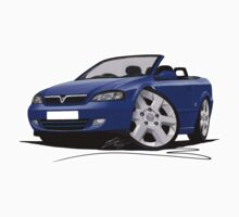 Vauxhall Astra (Mk4) Convertible Blue by Richard Yeomans