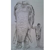 The Elephant Man Photographic Print