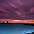 """Royal Skies Over La Corbière "" by Bradley Shawn  Rabon"